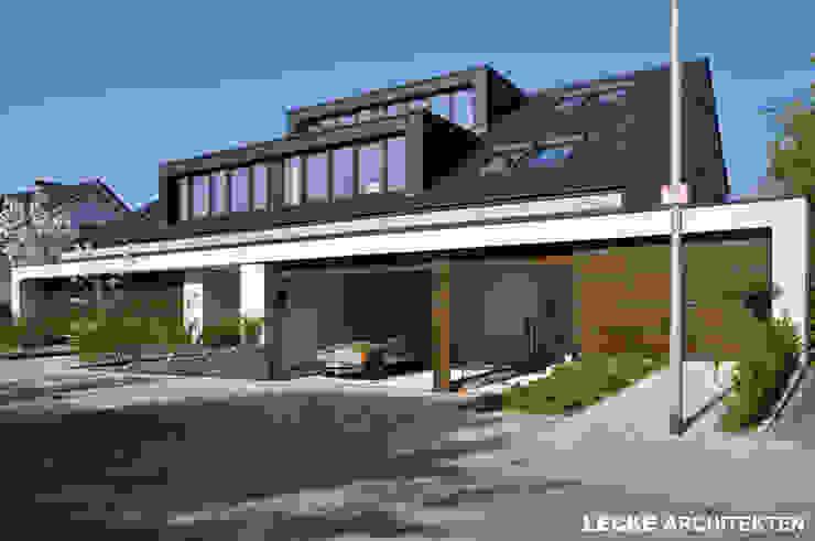 Modern houses by Lecke Architekten Modern