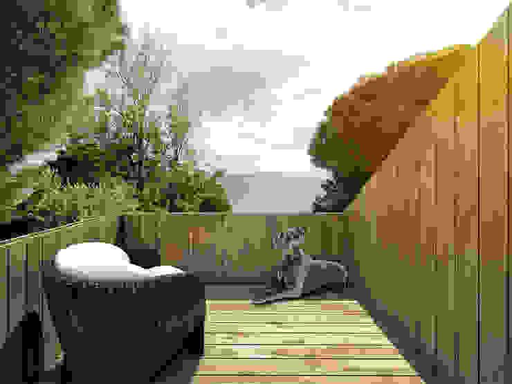 Minimalist houses by martimsousaemelo Minimalist Wood Wood effect