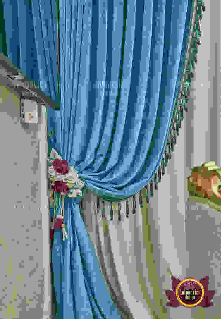 Unique Custom Luxury Curtains and Fabrics by Luxury Antonovich Design