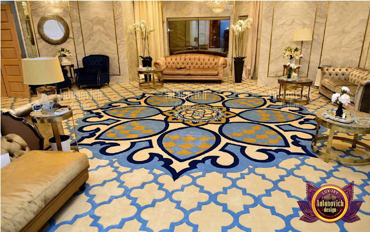 Neat Stunning Carpet Designs by Luxury Antonovich Design