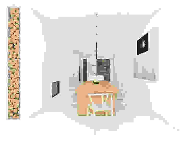 Minimalist dining room by martimsousaemelo Minimalist