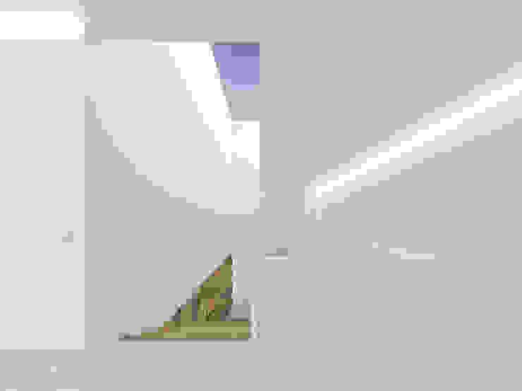 Minimalist corridor, hallway & stairs by martimsousaemelo Minimalist