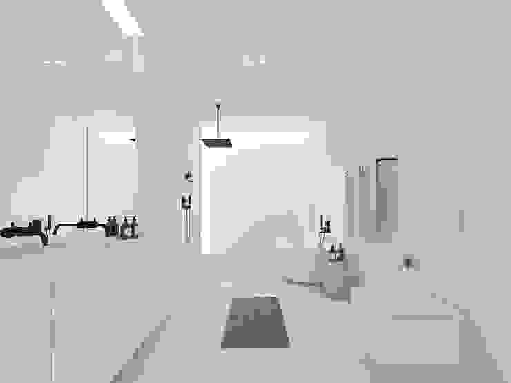 Minimalist style bathroom by martimsousaemelo Minimalist
