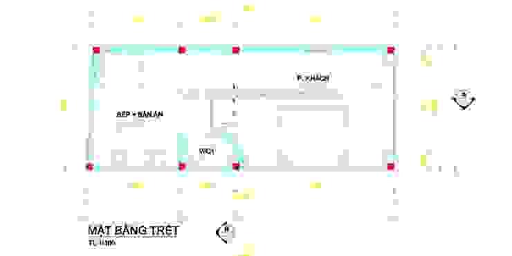 Mẫu nhà 1 trệt 3 lầu mái thái đẹp bởi Thiết kế nhà đẹp ở Hồ Chí Minh