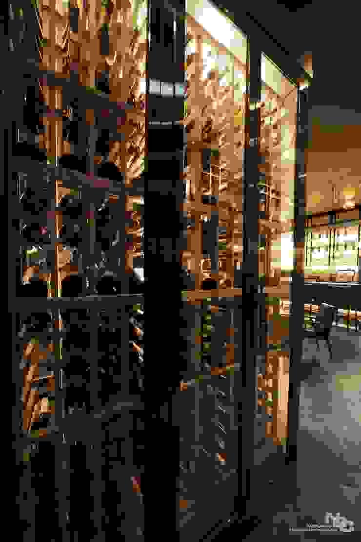 전주인테리어-너바나 와인카페 모던 스타일 바 & 클럽 by 내츄럴디자인컴퍼니 모던