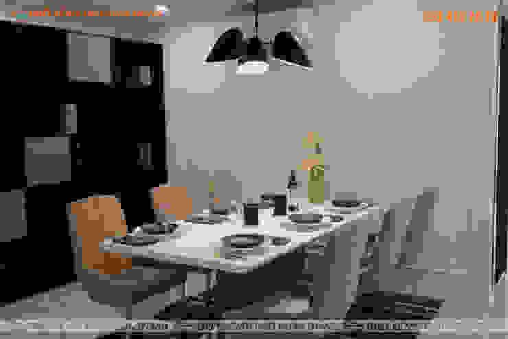 Nội Thất Phòng Bếp Căn Hộ HomyLand Quận 2 Nhà bếp phong cách hiện đại bởi Hoàn Thành Group Hiện đại