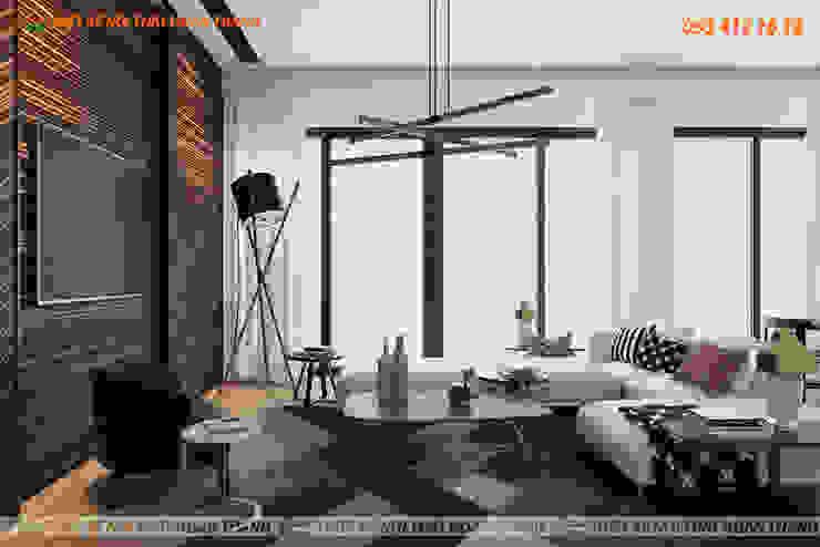 Ruang Keluarga Modern Oleh Hoàn Thành Group Modern