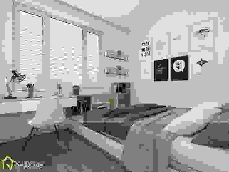 Thiết kế nội thất chung cư 70m2 Riverside Garden: hiện đại  by Công ty CP tư vấn thiết kế và xây dựng V-Home, Hiện đại