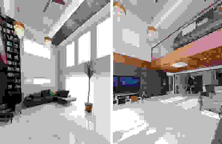 Modern Living Room by 더존하우징 Modern