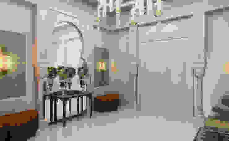 Villa Giriş / Pearl Villa Klasik Koridor, Hol & Merdivenler Sia Moore Archıtecture Interıor Desıgn Klasik Mermer