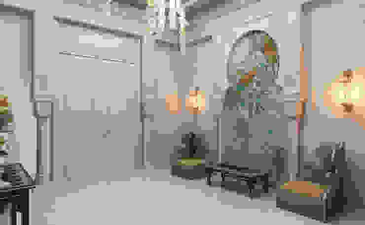 Villa Girişi -1 / Pearl Villa Klasik Koridor, Hol & Merdivenler Sia Moore Archıtecture Interıor Desıgn Klasik Mermer