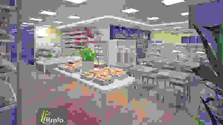 Rômulo Arquitetura . Design . Iluminação Office spaces & stores