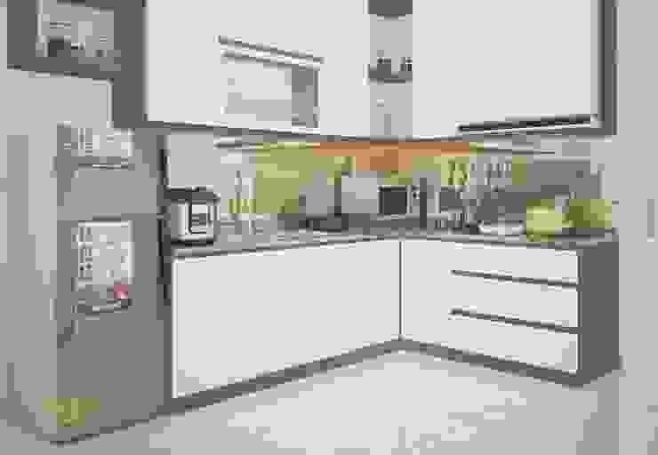 Phòng bếp đẹp: hiện đại  by Công Ty TNHH Funi, Hiện đại