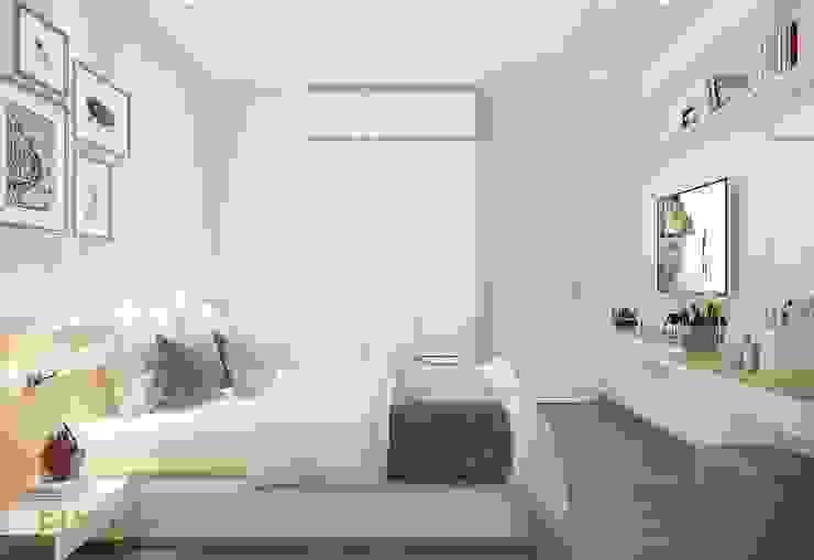 Giường ngủ đẹp: hiện đại  by Công Ty TNHH Funi, Hiện đại