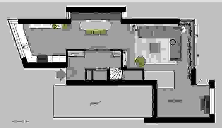 floor plan ground floor van Stefania Rastellino interior design