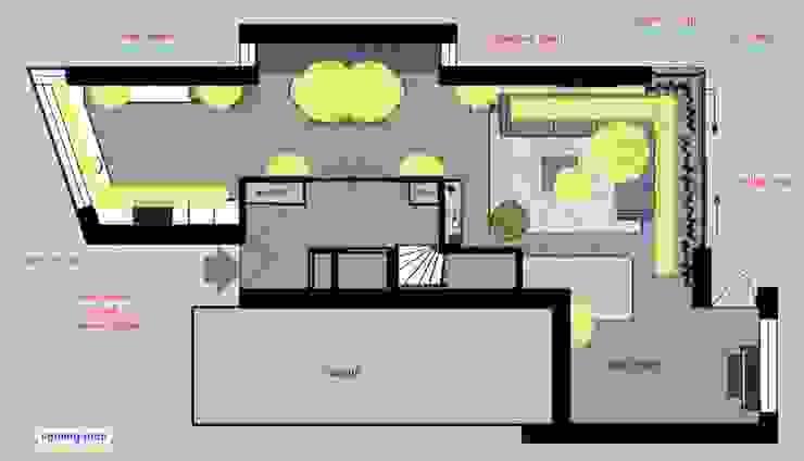 lighting plan van Stefania Rastellino interior design