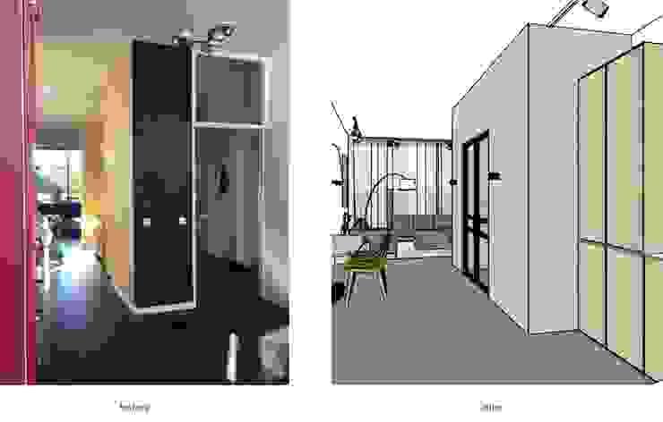 before and after van Stefania Rastellino interior design