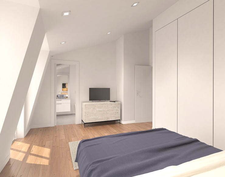 Modern style bedroom by Lisbon Heritage Modern