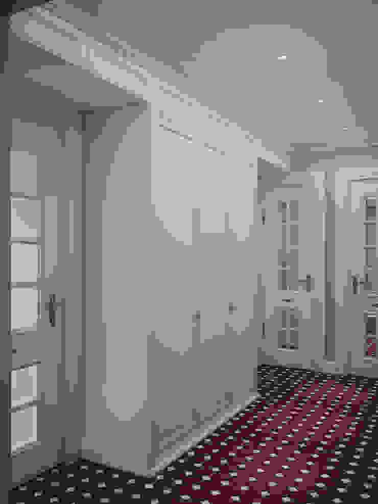 Klassischer Flur, Diele & Treppenhaus von Irina Yakushina Klassisch