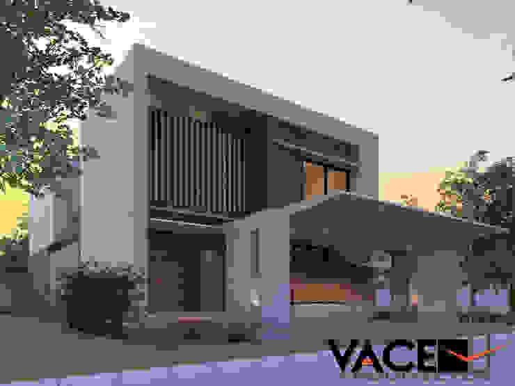 Casa Parota: Casas de estilo  por Vace Arquitectos sa de cv,