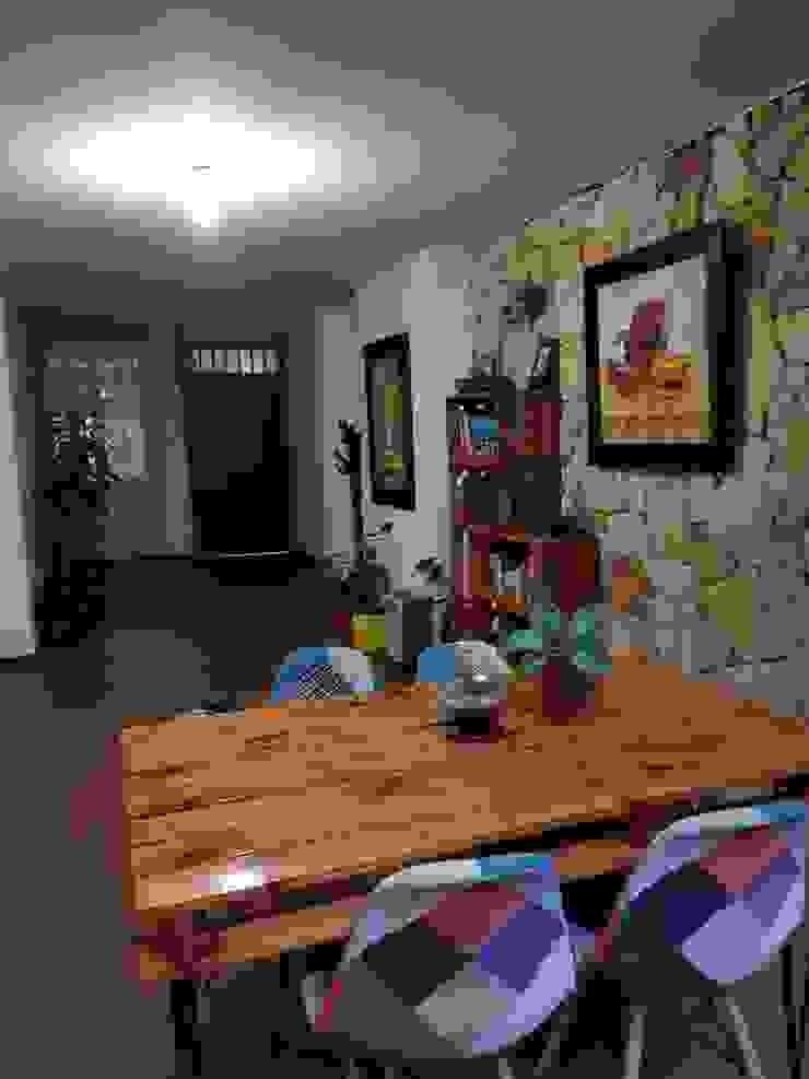 rustic  by Arte Eco Decoraciones, Rustic Wood Wood effect