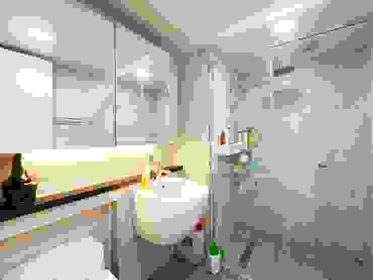 석수 푸르지오 APT 인테리어 리모델링 (33py) 모던스타일 욕실 by 바나나웍스 모던