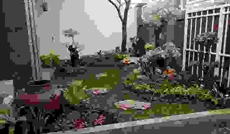 31 ide taman kecil | 082159942323 Ruang Komersial Gaya Asia Oleh JASA TAMAN Asia Bambu Green