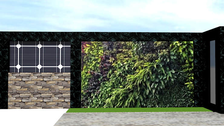 Arsitek Taman Surabaya || Taman Dinding:modern  oleh Tukang Taman Surabaya - Tianggadha-art, Modern