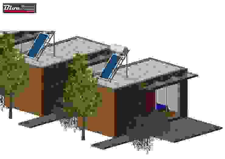 BLOC - Casas Modulares:  tarz ,