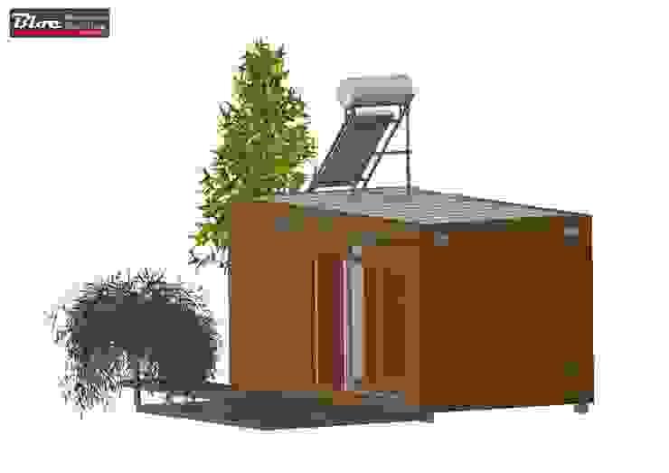 Casa Modular modelo BLOC LINEA T0 - 21m2 por BLOC - Casas Modulares Moderno