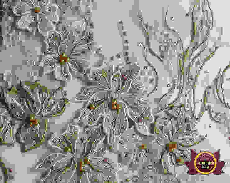 Extravagant Different Textiles for Interior by Luxury Antonovich Design