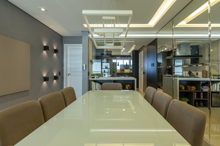 Moderne Esszimmer von LAM Arquitetura | Interiores Modern