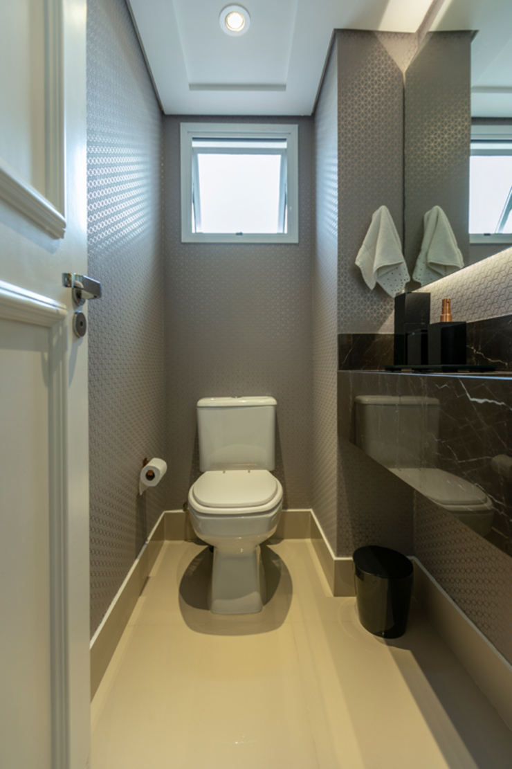 Moderne Badezimmer von LAM Arquitetura | Interiores Modern