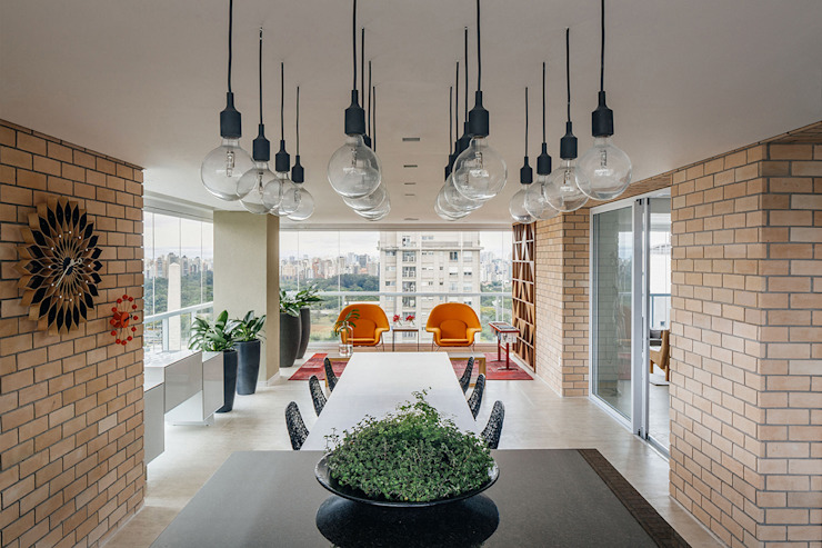 Balcon, Veranda & Terrasse modernes par FCstudio Moderne
