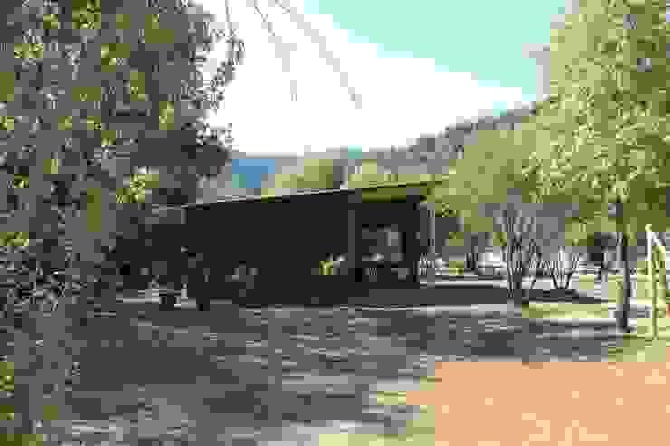 Fachada Casa Bosque de L2 Arquitectura Rural Madera Acabado en madera