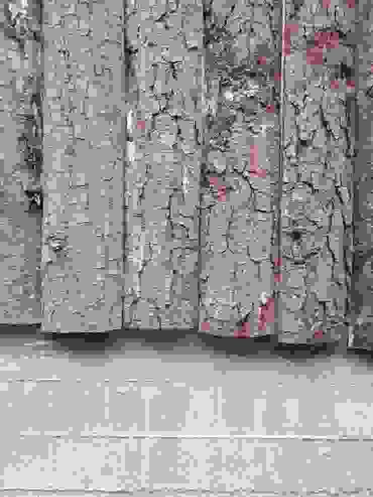 Detalle Revestimiento Casa Bosque de L2 Arquitectura Rural Madera Acabado en madera
