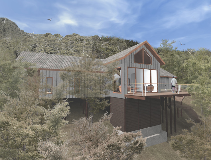 by L2 Arquitectura Country Wood Wood effect