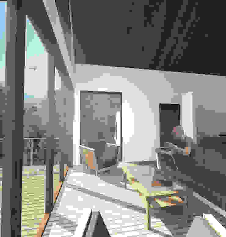 por L2 Arquitectura Campestre Madeira Efeito de madeira