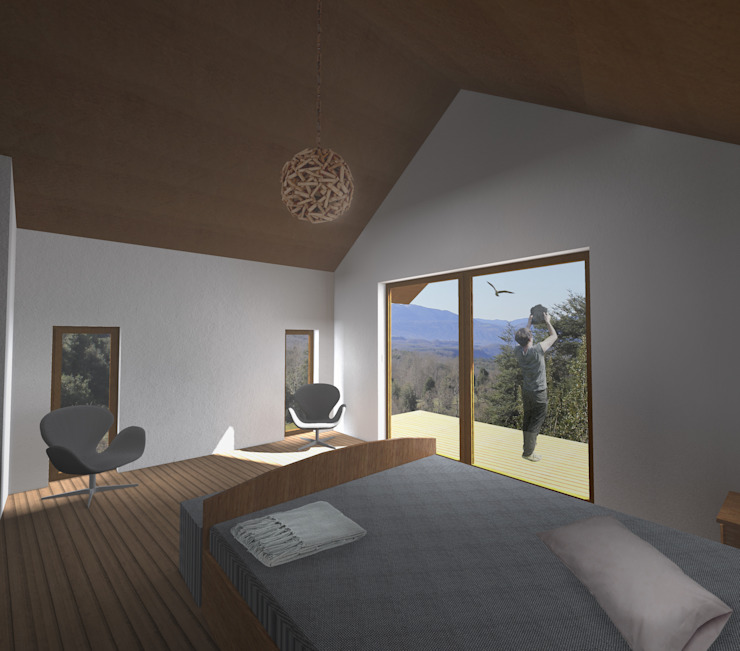 by L2 Arquitectura Modern Wood Wood effect