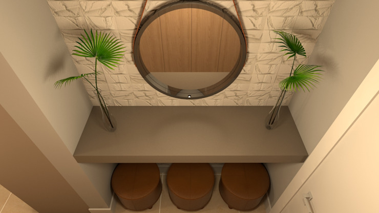 Corridor and hallway by Revisite, Modern