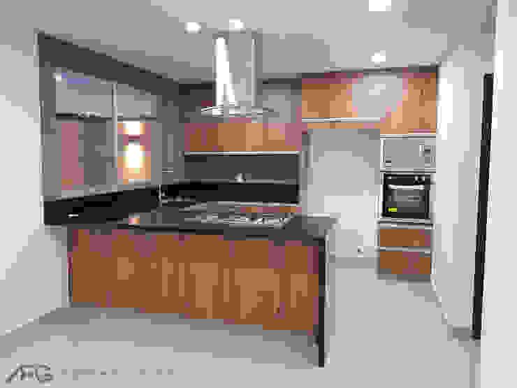 ANBA interiorismo Built-in kitchens