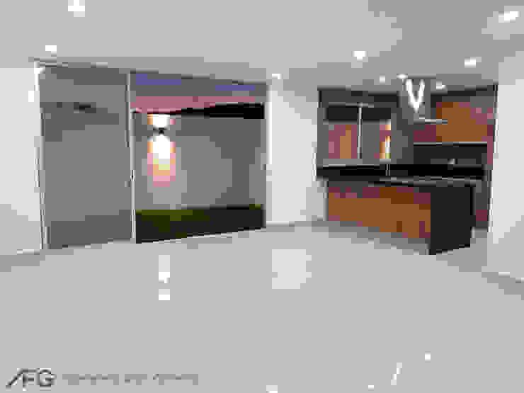 Comedor/Cocina/Patio Comedores modernos de AFG Construcción y Diseño Moderno