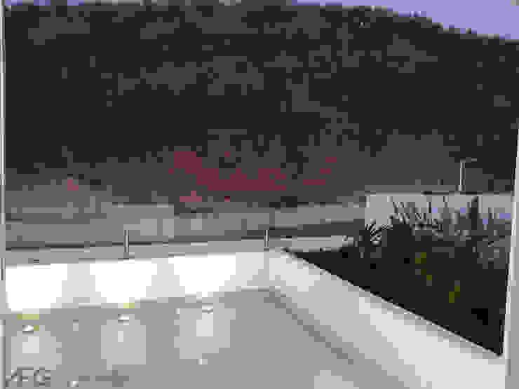 ANBA interiorismo Roof terrace