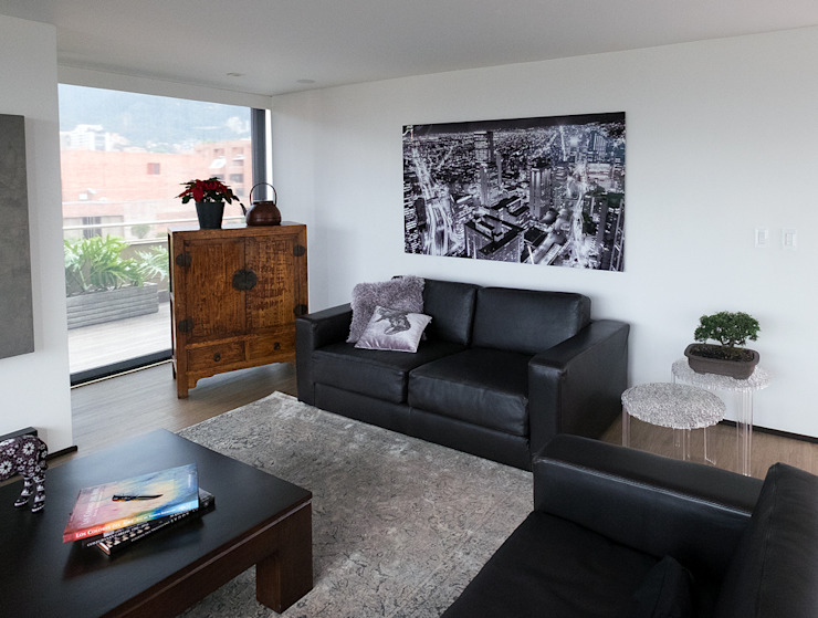 modern  by Fotografías Fine Art para espacios más bellos, Modern Aluminium/Zinc
