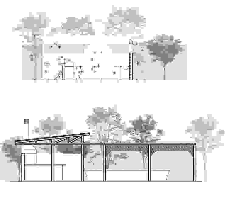 Diseño & Construcción Quincho Olmué Latitud Sur Acabado en madera