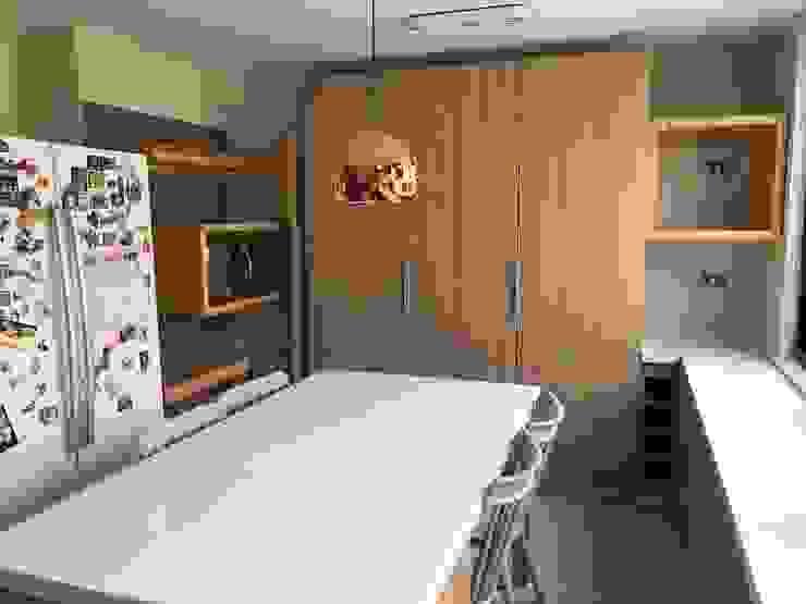 Cocina de Latitud Sur Moderno Tablero DM