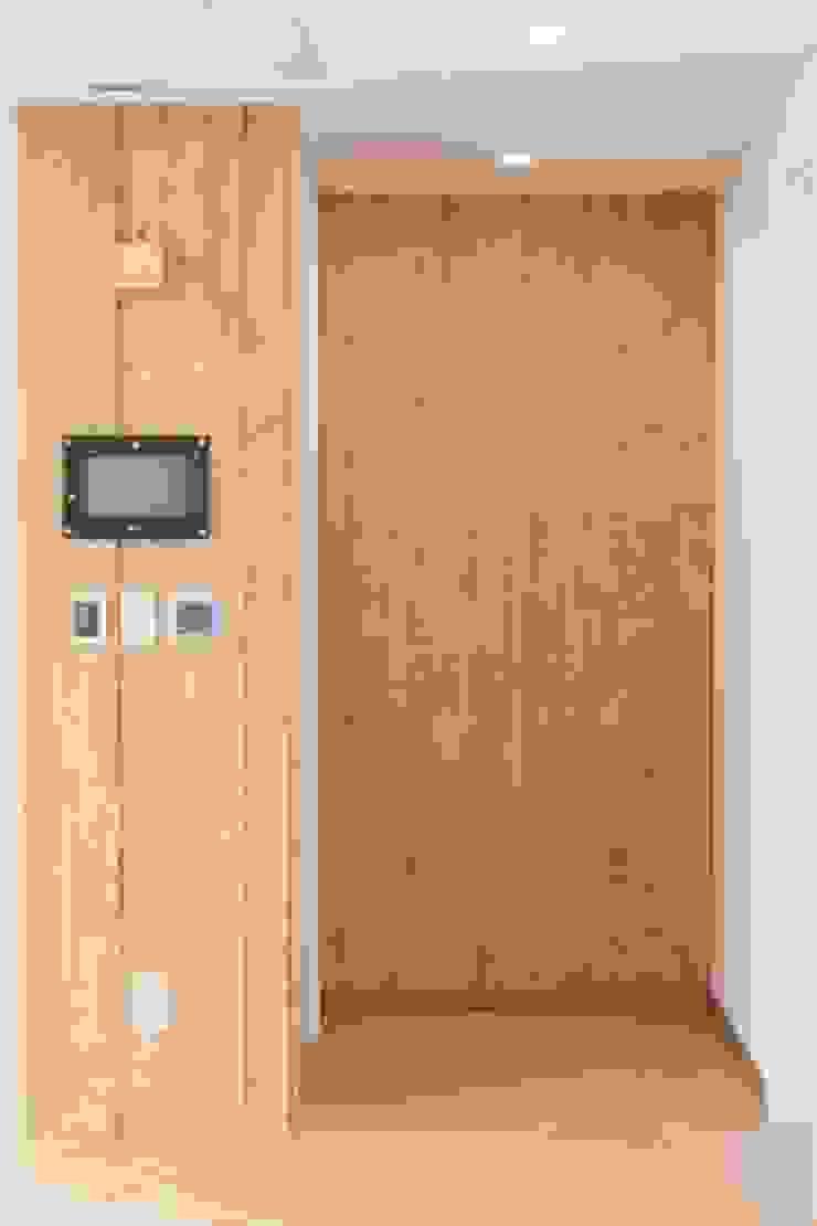 판교 금호 어울림 9단지 APT 인테리어 리모델링 (40py) 스칸디나비아 거실 by 바나나웍스 북유럽