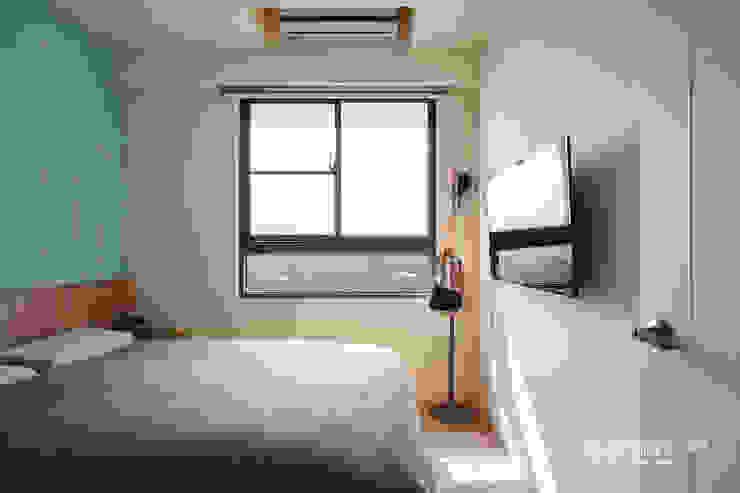 主臥室 根據 顥岩空間設計 北歐風