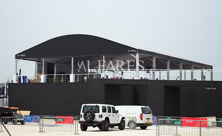Tents and Marquees for Events Modern garage/shed by Al Fares International Tents Modern
