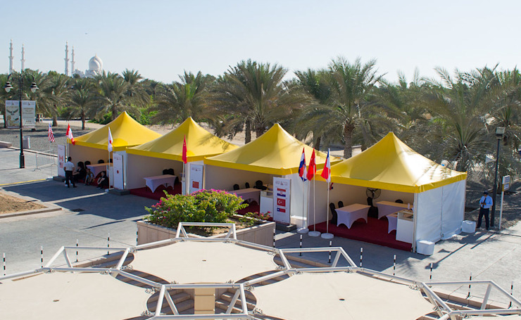 Dome Tents By Al Fares Intl. Tents Modern garage/shed by Al Fares International Tents Modern